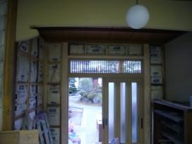 小庫裡玄関内部